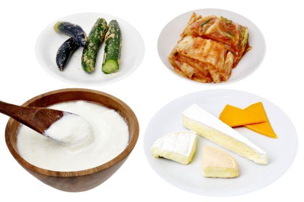 Lactobacillus-foods