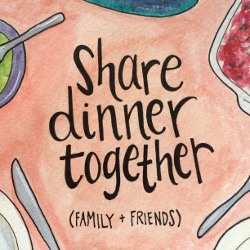 Share Dinner Together