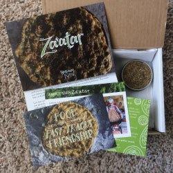 Zaatar box