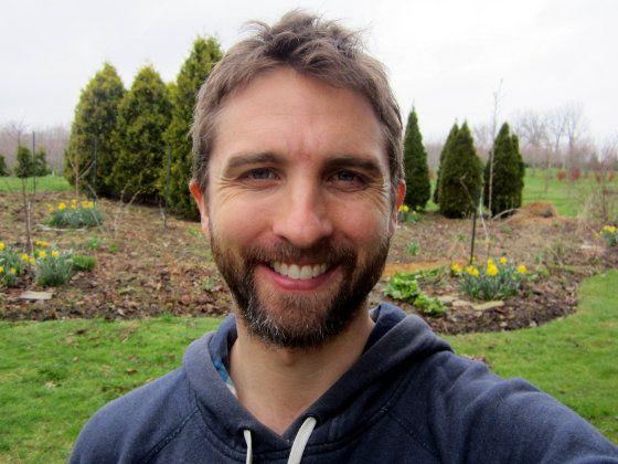 Me In My Garden