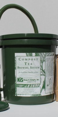 Compost Tea Brewer Bucket