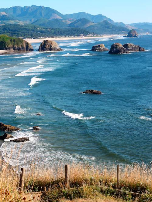 Ocean water, Oregon