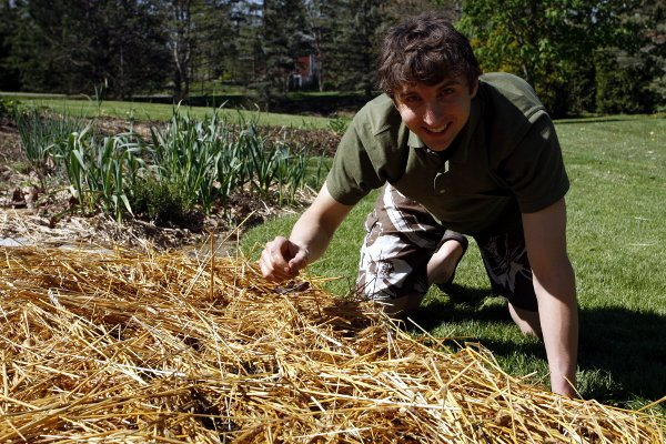 Phil sowing seed